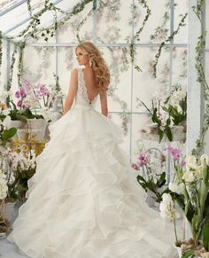 Prudence Gowns - #MoriLee #Penny #Exeter #Plymouth #Devon #Cornwall #weddingdress #bride #DressingYourDreams #LowBack