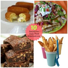 Try these #healthy alternatives to your favorite snacks #recipes