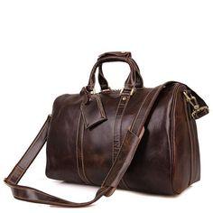9e6990033667 Genuine Leather Duffle Bag Handbag Large Travel Gym Luggage Weekender - Buy  Online - Free Shipping