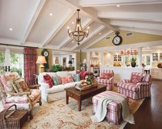 When You Want To Make The Living Room Looks Like A Country Cottage, The  Important Thing That You Have To Do Is Place Country Cottage Furniture.