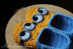 Crochet Pattern Slippers Adult sizes PDF by AtelierHandmadecom