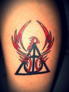 Harry Potter Phoenix Tattoo - #HarryPotterTattoo