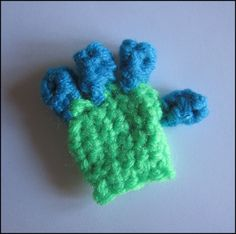 Melissa's Crochet Patterns: How to Crochet Fingers and Hands