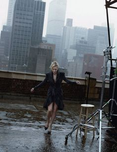 Kate Winslet | Photography by Peter Lindbergh | For Harper's Bazaar US | August 2009