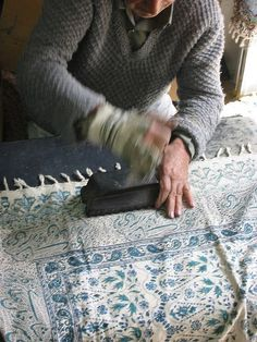 Tablecloth printing, Iran