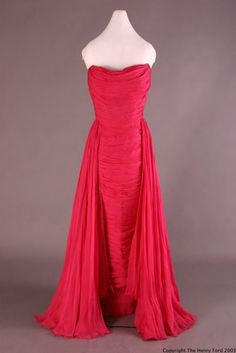 Evening Dress  Bob Bugnand, 1953-1955  The Henry Ford Costume Collection