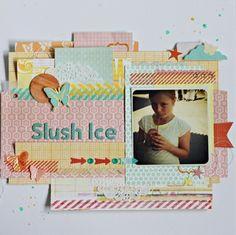 "♥ the colors and fun layering!! ... ""Slush Ice""  by NinaSt @ Studio Calico"