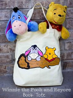 Winnie the Pooh and Eeyore Book Tote