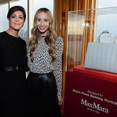 Maria Giulia Prezioso Maramotti con  @harleyvnewton