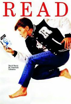 Two of my favorite things- Reading and David Bowie
