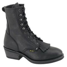 9'' Black Leather Boot Item No: 63268 Your Price: $99.00