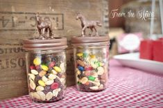 Yee haw trail mix from Wild West Cowboy Party at Kara's Party Ideas. See more at karaspartyideas.com!