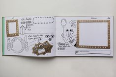 """Kinderbücher - Freundebuch """"Meine Kindergartenfreunde"""" - ein Designerstück von bregland bei DaWanda"""