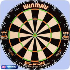 Dartboards - Winmau - Thinner Trebles and Doubles - Blade Champions Choice - Dual Core Dartboard