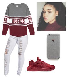 """Untitled #90"" by rashalabieber on Polyvore featuring NIKE"