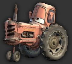 Tractors by Randy Wright Walt Disney, Disney Pixar Cars, Disney Magic, Farmall Tractors, John Deere Tractors, Big Tractors, Looney Tunes, Disney Clipart, Tractor Birthday