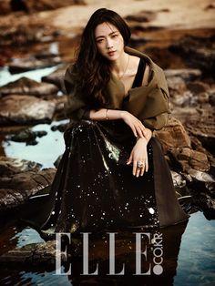 Tang Wei // Elle Korea