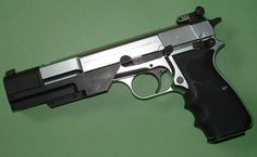 Browning High Power with JAC muzzle