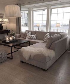 Gorgeus neutral living room ideas (47)