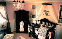 Bed crown featured HGTV  132 dollars  Paris by PrincessCanopyShop, $132.00 (this is it, our babys room!!!!)