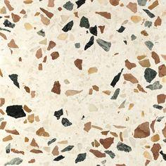 Stone | Terrazzo Granite Stone, Quartz Stone, Terrazo Flooring, Stone Flooring, Kitchen Flooring, Flooring Ideas, Interior Walls, Interior Design, Apartments