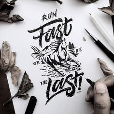 Fantastic type and illustration by @mulyahari - #typegang - typegang.com | typegang.com #typegang #typography