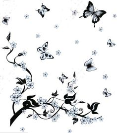 Bigbvg Easy Instant Home Decor Wall Sticker Decal - Vintage Butterfly and Tree by simde, http://www.amazon.com/dp/B008GTHXBQ/ref=cm_sw_r_pi_dp_6Debqb1S1MRT7
