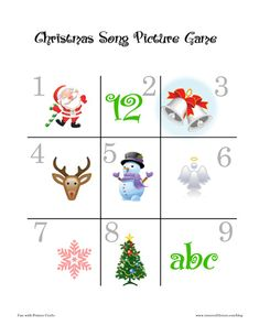 These printable Christmas games for kids will immensely improve your children's listening and observation skills and can be a fun activity for both children and adults.