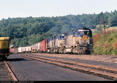 RailPictures.Net Photo: D&H 612 Delaware & Hudson Alco C628 at Nineveh, New York by Extra 127 South