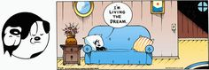 MUTTS by Patrick McDonnell | September 29, 2013 | I'm living the dream