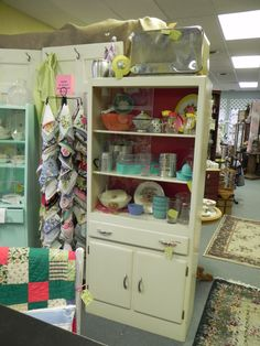 Shot of my booth at the Bellevue Antique Mall, Nashville, TN