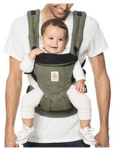 05cb9abb922 Ergobaby Omni 360 All Carry Positions Ergonomic Baby Carrier - Khaki Green