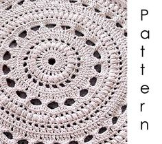 Giant Crochet Rug Pattern