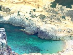 Italy, Puglia, Porto Miggiano A secret place of beauty