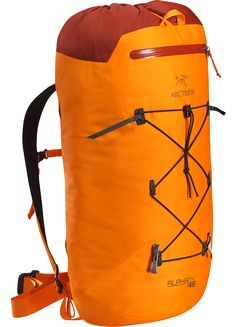 Alpha FL 45 Backpack Ultralight, durable, highly weather resistant climbing pack designed for fast and light travel on alpine, ice, rock and ski alpinism routes. Alpha Series: Climbing and alpine focused systems | FL: Fast and Light.
