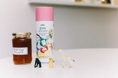 Spray Paint, Jars, Plastic Animals for DIY Jar Topper Tutorial