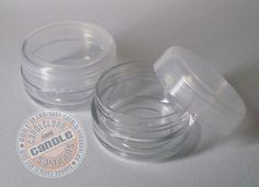 Set of 12 Lip Balm Pots with Natural Lids 10 by CandleLynnSupplies. $4.89, via Etsy.