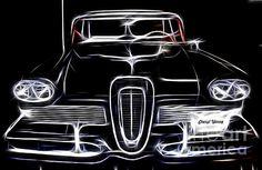 1958 Ford Edsel Fractal- Fine art print