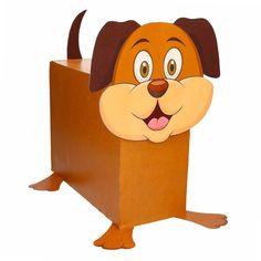 Hond zelf maken knutselpakket / Sinterklaas surprise. Compleet basis bouwpakket om een hond te kunnen maken zoals op de afbeelding. Dit pakket bestaat uit de basismaterialen en instructies die u nodig heeft om een hond te knutselen van ongeveer 41 x 16 x 35 cm. Daarna kunt u de surpise naar eigen wens versieren en personaliseren. Extra nodig: - Lijm - Schaar - Plakband / tape Ruimte voor kado: In het doosje is een ruimte van ongeveer 35 x 24 x 12 cm.