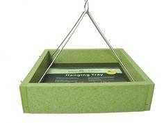 GREEN SOLUTIONS SMALL HANGING TRAY FEEDER | Birds Choice