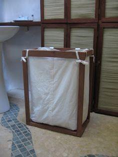 Diy laundry basket idea