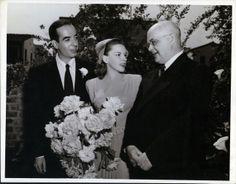 Judy Garland and Vincente Minnelli wedding