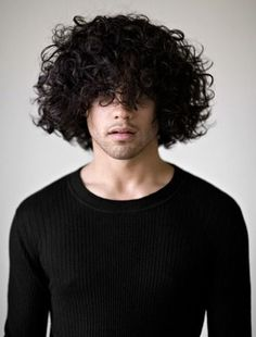 40 Modern Men's Hairstyles for Curly Hair (That Will Change Your Look) Hair And Beard Styles, Curly Hair Styles, Natural Hair Styles, Long Curly Hair Men, Hair System, Trending Haircuts, Great Hairstyles, Haircuts For Men, Hair Pieces