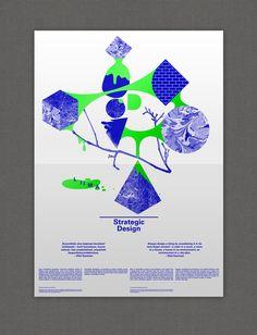 Hld Poster 2013 by TwoPoints   «Une série d'affiches résumant les outils de conception et des idées stratégiques. Il présente les différents rôles et des scénarios pour un concepteur dans le milieu de l'environnement, de la turbulence économique et social.» [via AA13]