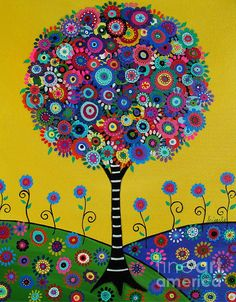 TREE, TREE OF LIFE, BLOOMS,FLORALS,FLOWERS,MEXICAN,ART,FOLK ART, PAINTING, STILL-LIFE,PRISARTS,PRISTINE,CARTERA-TURKUS,WHIMSICAL, BEST-SELLER,POPULAR,SALE,NURSERY,BEDROOM,DESIGN,INTERIOR DESIGN, DECOR, HOME, HOUSEWARMING, GIFT, PRESENT, BAR , BAT , MITZVAH, B'NAI MITZVAH, JUDAICA, JEWISH RELIGION, POPULAR, BEST-SELLER, GREAT GIFT, FAMILY, FATHER,MOTHER,SISTER,BROTHER,COUSIN,FRIEND, CO-WORKER, BUDDY, BEST-FRIEND, HEALING GIFT