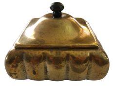 Art Nouveau Brass Box Kallmeyer & Harjes SOLD: Au Fil de l'Eau Antiques