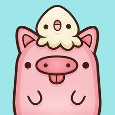 130 Best Cute Piggies Images Bird Art Birds Drawings