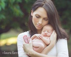 LOVE this mom and baby pose. Will try.