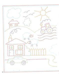 Z internetu - Sisa Stipa - Picasa Web Albums Motor Activities, Educational Activities, Preschool Activities, Tracing Worksheets, Kindergarten Worksheets, Pre Writing, Writing Skills, Drawing For Kids, Art For Kids