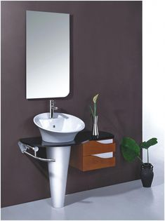 Bathroom Sinks and Vanities for Small Spaces . Bathroom Sinks and Vanities for Small Spaces . Narrow Bathroom Vanities Luxury Bathroom Sinks for Small Diy Bathroom Storage, Small Bathroom Sinks, Small Bathroom Diy, Trendy Bathroom, Mirror Cabinets, Wood Storage Cabinets, Bathroom Trends, White Vanity Bathroom, Small Bathroom Vanities